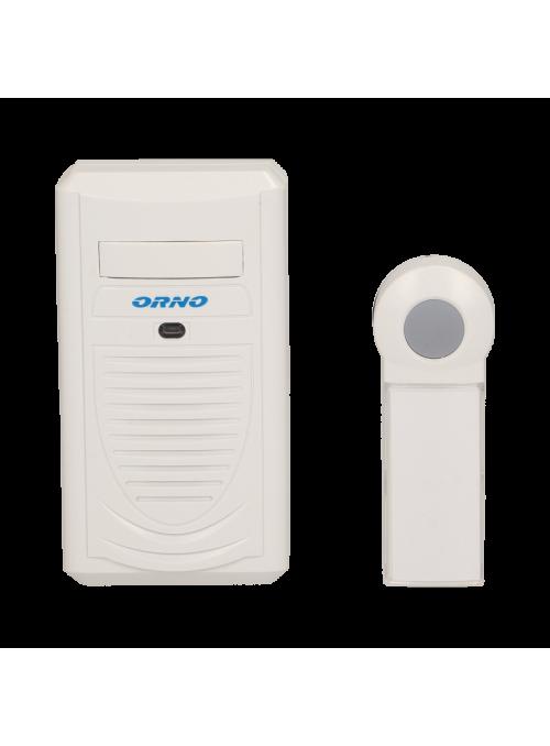 Dzwonek bezprzewodowy DISCO AC, sieciowy, learning system, 1 dźwięk, 100m
