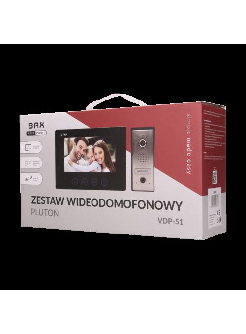 Zestaw wideodomofonowy PLUTON BAX 7