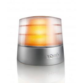 Pomarańczowa lampa ostrzegawcza 24V z anteną RTS i przerywaczem