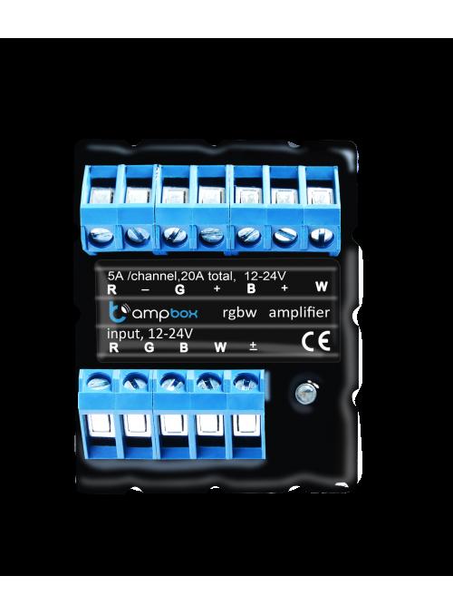 Sterownik AmpBox - zarządzanie sterownikami LED